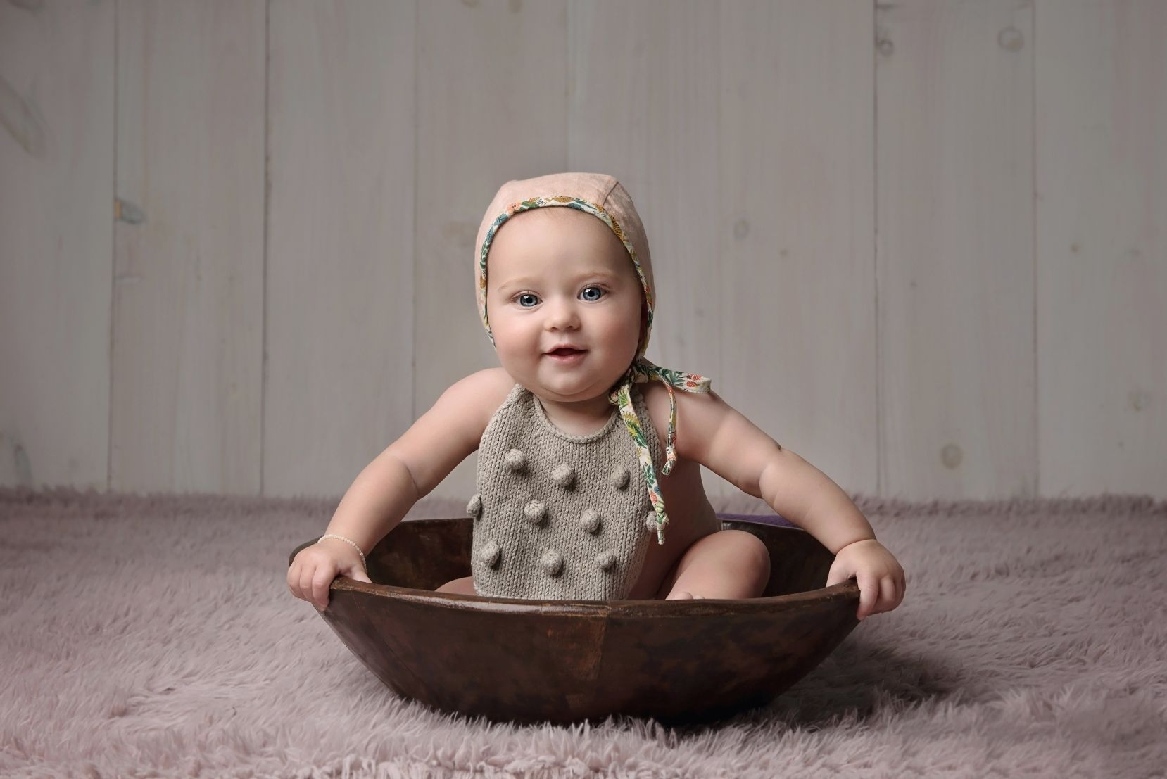 Baby Portrait photography in camp hill pa studio
