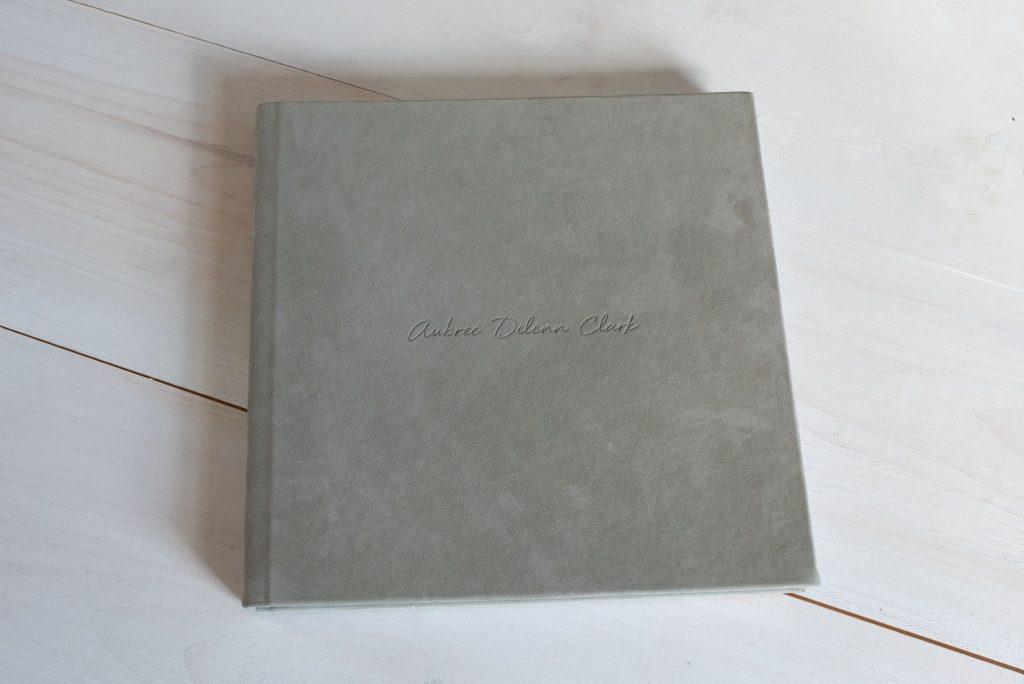 Custom Designed Album in the camp hill pa studio