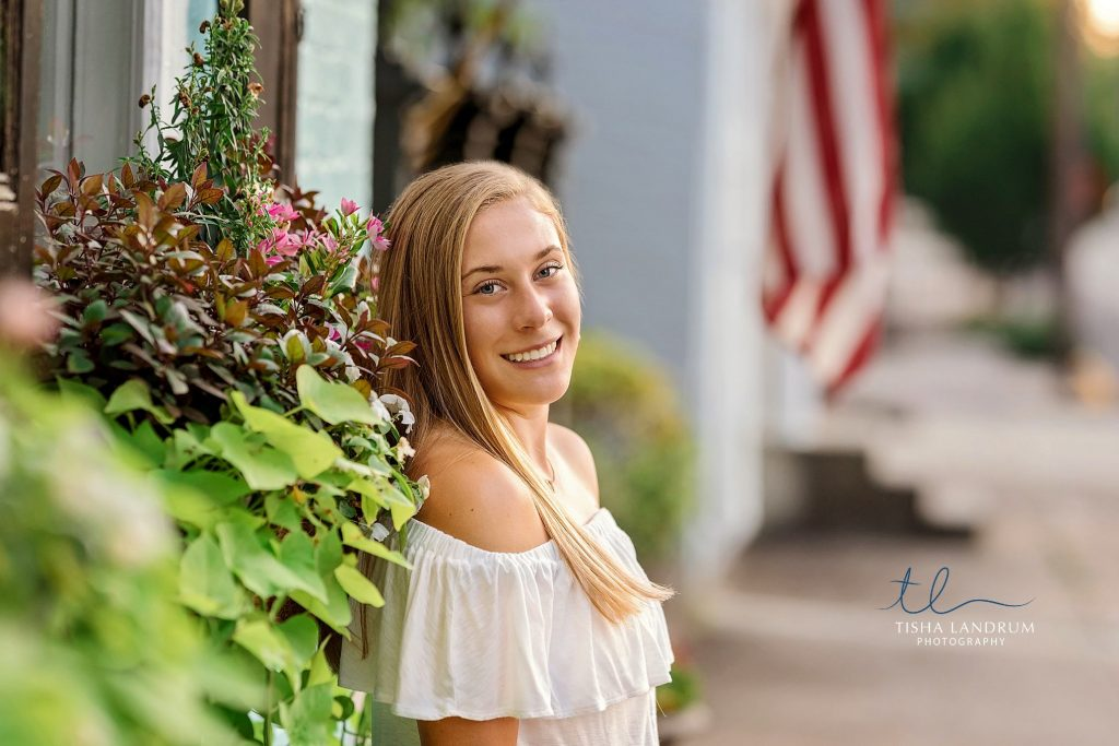 Camp Hill Senior Photography in a Flower Field