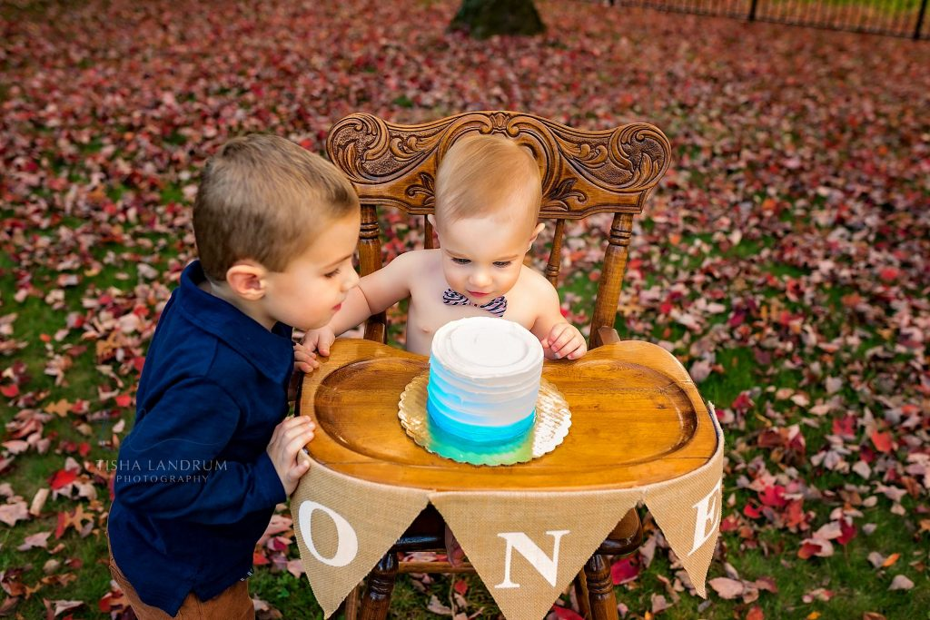 Baby Photographer In Camp Hill PA Photographing First Birthday At Home